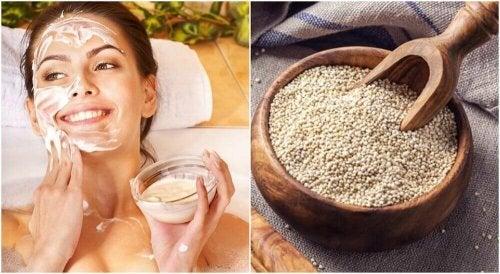 Je gezicht wassen met quinoa: probeer het zelf eens!