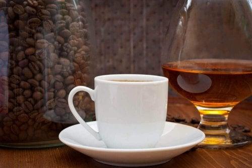 Koffie en likeur