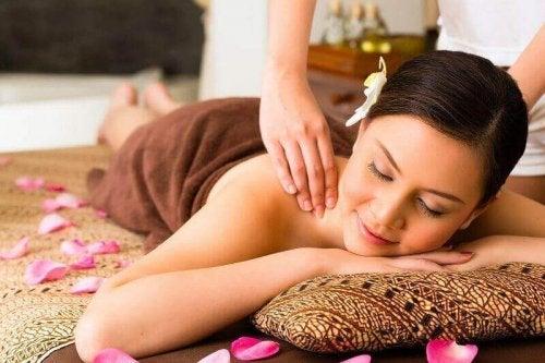 Massage om te ontgiften