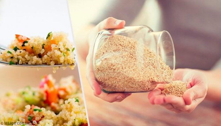 7 geweldige redenen om quinoa te eten