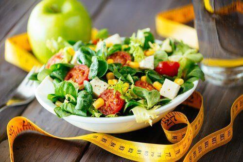 Salade met mais