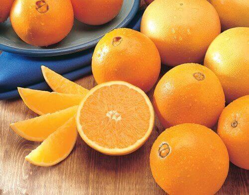 Stoelgang op gang brengen sinaasappels