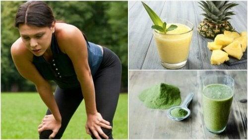 5 heerlijke smoothies tegen spiervermoeidheid