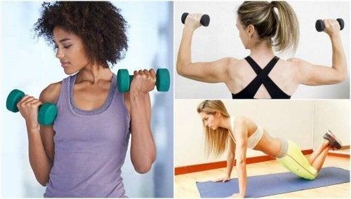 Sterkere armen zonder naar de sportschool te gaan