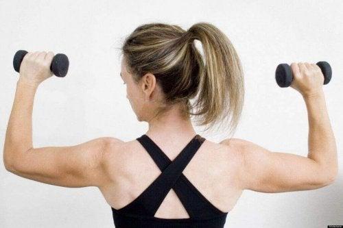 Oefening voor sterkere armen