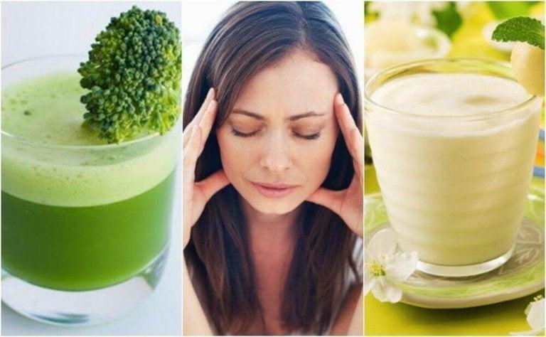 5 heerlijke stressbestrijdende sappen