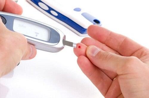 De bloedsuikerspiegel opmeten