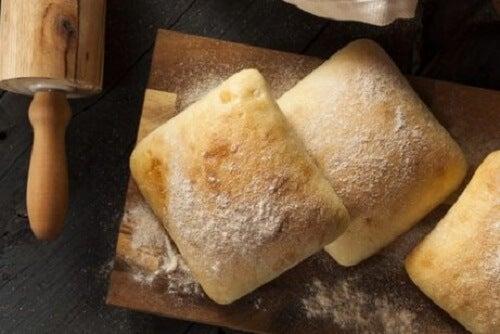 Eet geen wit brood, koekjes en aanverwanten