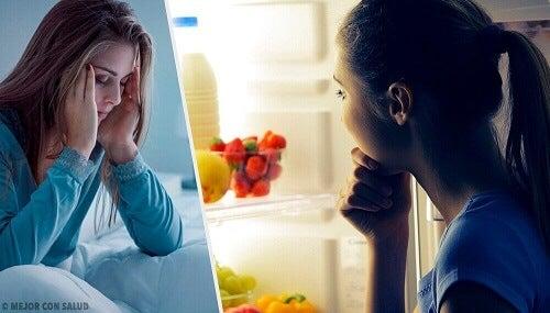Wat zijn de redenen waarom we 's avonds te veel eten?