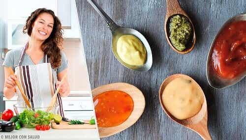 Vier gezonde sauzen die je bij je gerechten kan serveren