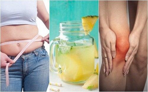 5 redenen om ananaswater te drinken