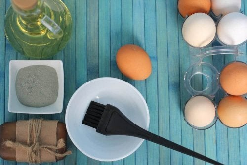 3 eenvoudige en natuurlijke haarcrèmes met eieren