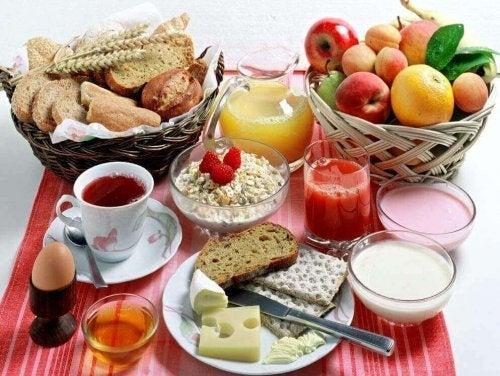 Een gezond ontbijt