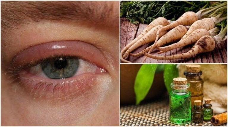 5 huismiddeltjes tegen gezwollen oogleden