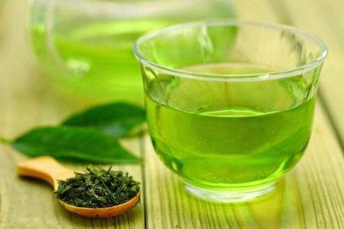 Makkelijk afvallen met groene thee