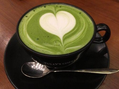 Groene thee biedt energie