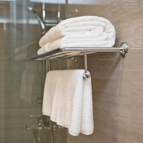Handdoeken zijn ook items met een houdbaarheidsdatum