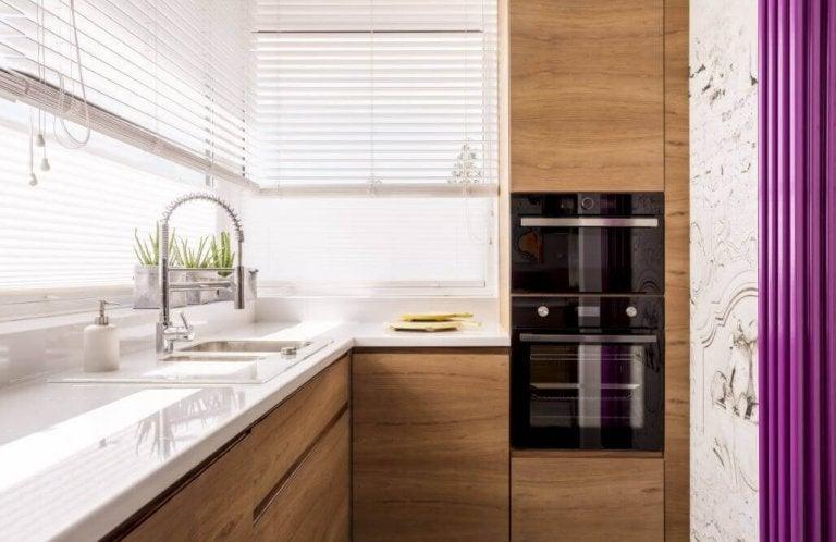 6 geniale manieren om een kleine keuken in te richten