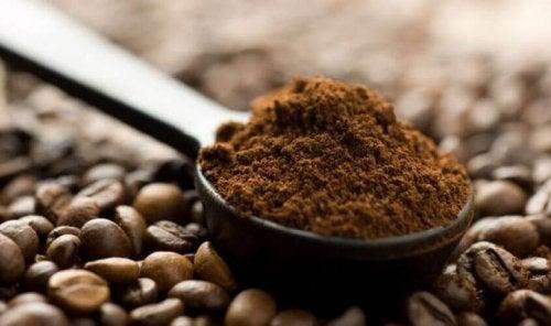 Striae verminderen met koffie