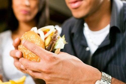 Ongezond dieet