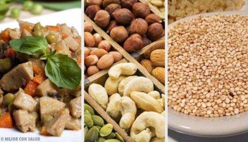 Plantaardige alternatieven om dierlijke eiwitten te vervangen