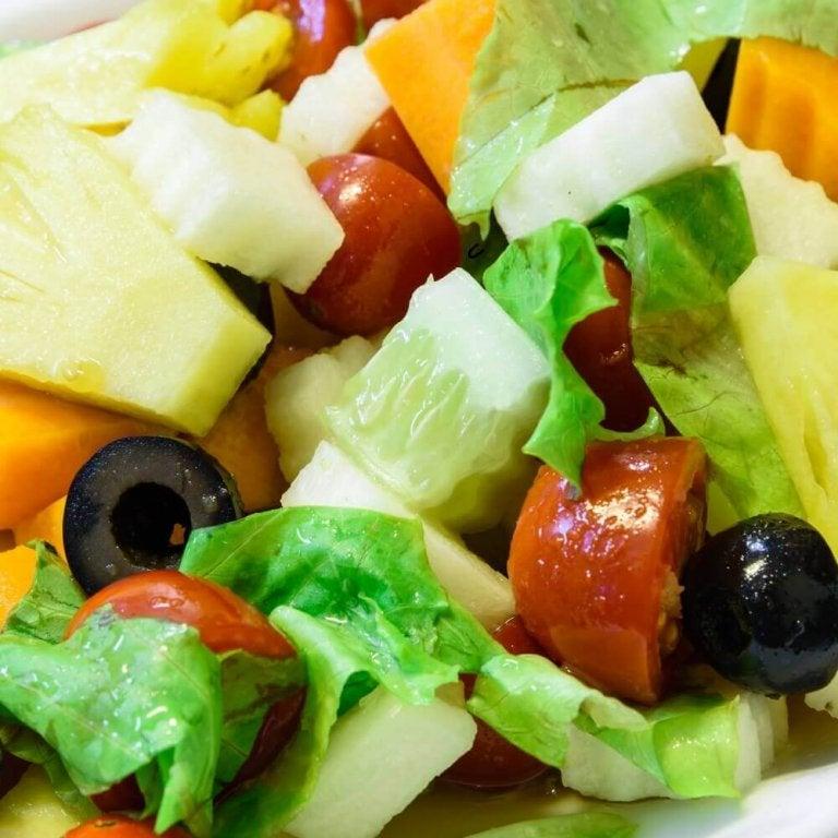3 salades met ananas: perfect voor bij het diner