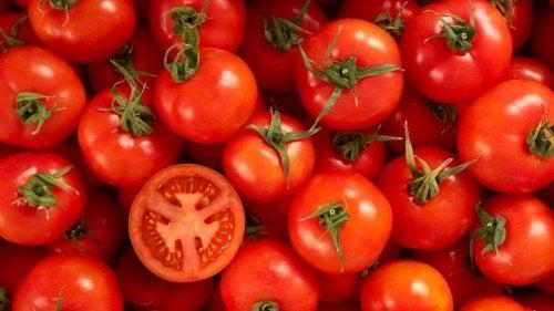 Tomaten voor de huid