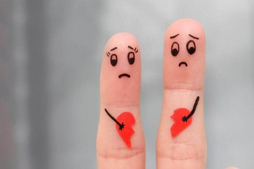 Verdrietige vingers