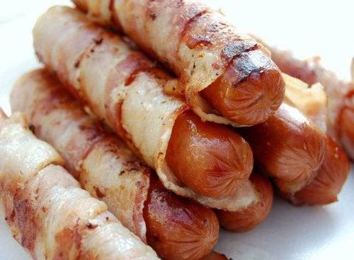 Ultrabewerkt vlees