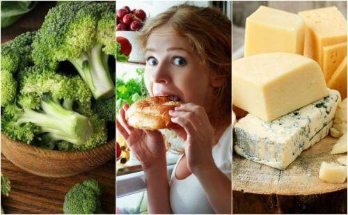 Zeven voedingsmiddelen die je niet 's avonds moet eten
