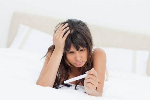 Positieve zwangerschapstest