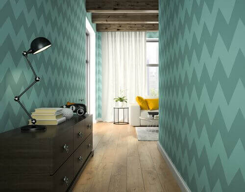 De gangen inrichten met decoratieve elementen