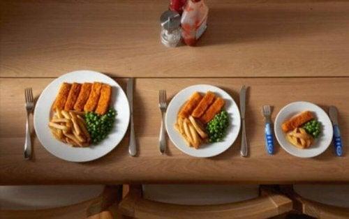 Eet vijf keer per dag