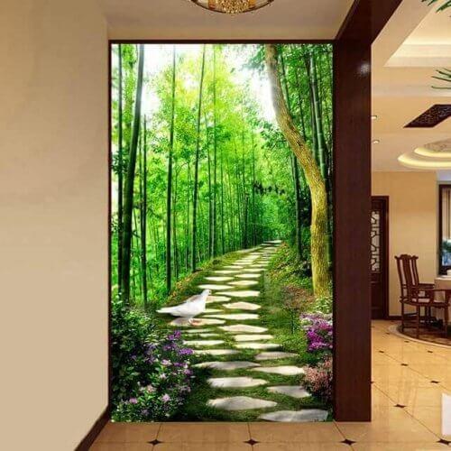Ideeën voor de inrichting van de gangen