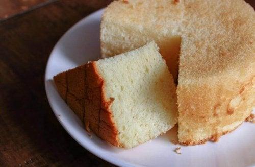 Sinaasappelcake voor diabeten