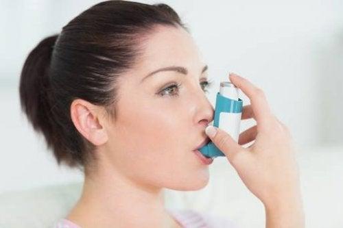 Inhalator voor astma