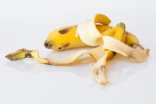 banaan en bananenschil