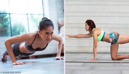 Probeer deze geweldige push-up routines