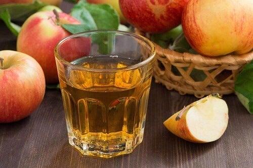 Bestrijd nierstenen met appelazijn
