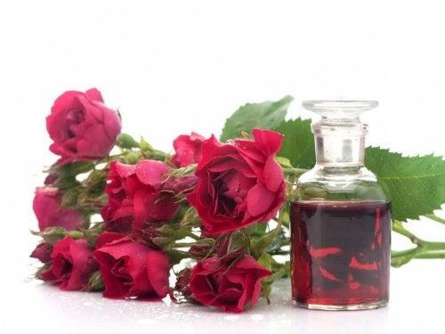 Camellia-olie is rijk aan omega 6-vetzuren