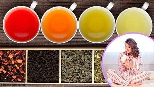 De vijf beste theesoorten die je rustig laten slapen