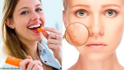Ontdek 9 voedingsmiddelen voor de verzorging van de huid