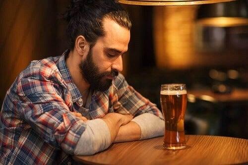 Snel drinken kan een teken van verslaving zijn