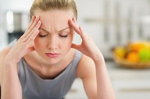 Stress beïnvloedt de gezondheid van het haar