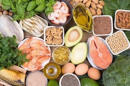 Voedingsmiddelen vol omega 3 -vetzuren