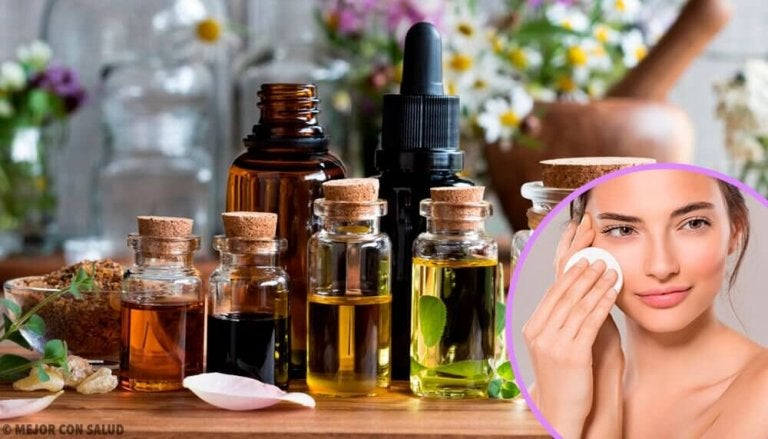 Zelfgemaakte make-up remover voor een gevoelige huid