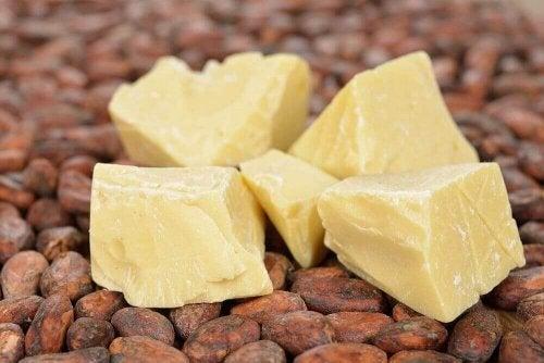 Cacaoboter met noten