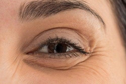 Close up van een oog