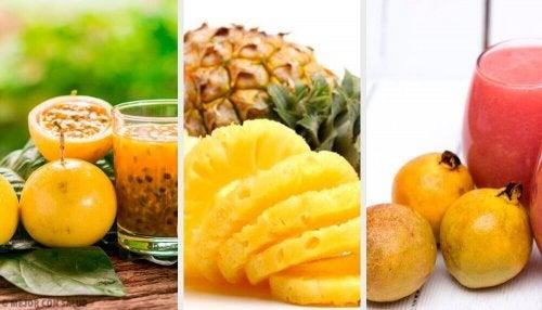 De 9 gezondste tropische vruchten