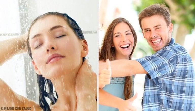 10 dingen die je opmerkt na douchen met koud water